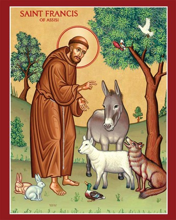 St. Francis of Assisi Blessing of the Animals