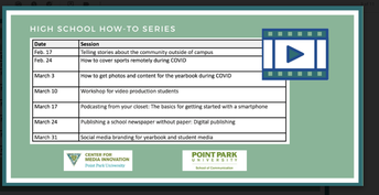 Point Park University Leads Student Journalism Workshops With Avonews Every Wednesday Throughout March