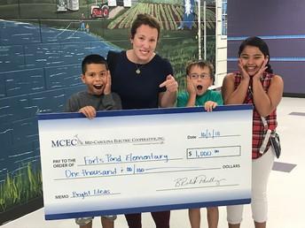 Ms. Siceloff Receives MCEC Bright Ideas Grant