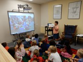 First Graders Skype with Buddy Class from South Dakota