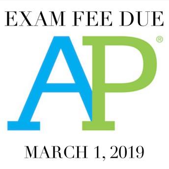 AP Exam Fee
