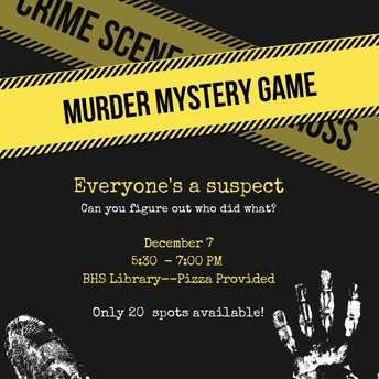 Murder Mystery Puzzle Room
