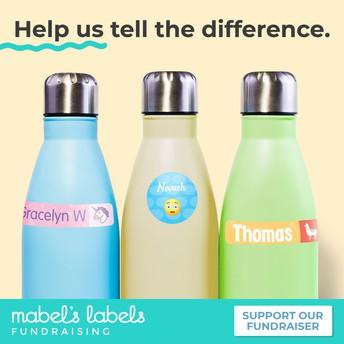 Online Fundraiser: Mabel's Labels
