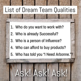 Who will join you in this business and run with it?