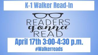 K-1 Read In 3:00-4:30 - April 17th