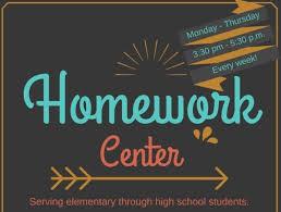 Homework Center!