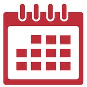 Secretary Work Calendar