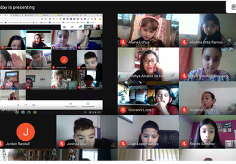 Maestra Cynthia's  Google Meet