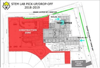 Pick Up Drop Off Map / Recoger el mapa de dejar