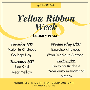 Yellow Ribbon Week is Here!