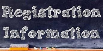 Kindergarten/1st Grade Registration