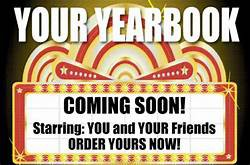 "What's Happening This Week  - ""Yearbooks are available for pre-purchase! You can pre-order your copy in the office"