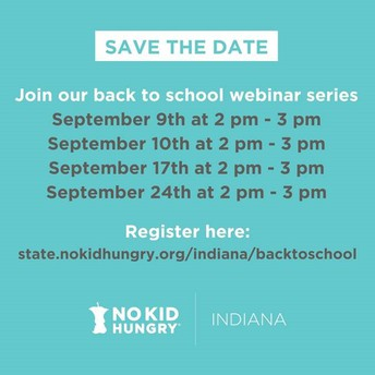 No Kid Hungry (NKH) Webinar Series