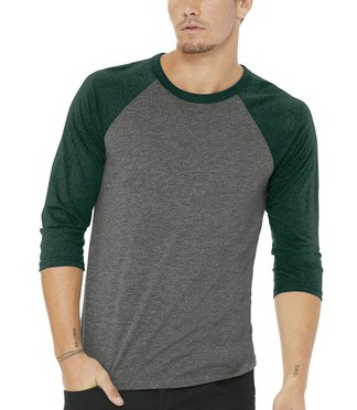 $17 3/4 Sleeve Baseball Tee