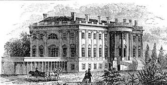White House cornerstone laid