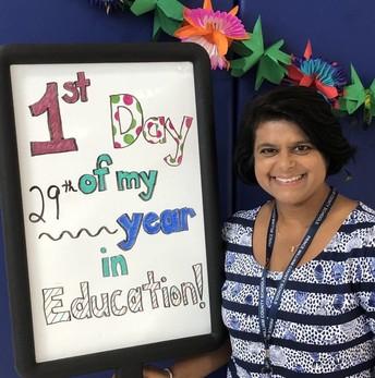 Our Principal, Mrs. Magrath!
