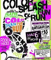 Color Splash Fun PTA Fundraiser