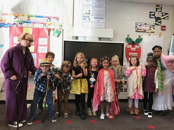 First Graders have really aged!
