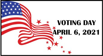 Election:  April 6th