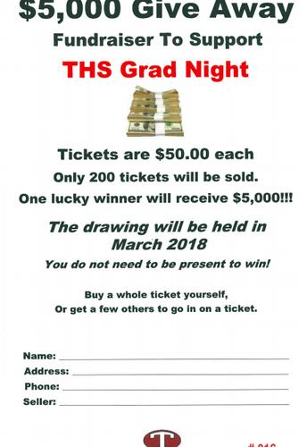 Grad Night Fundraiser