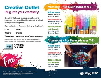 Creative Outlet: Plug into your creativity!