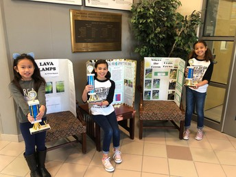 2019 Science Fair Winners