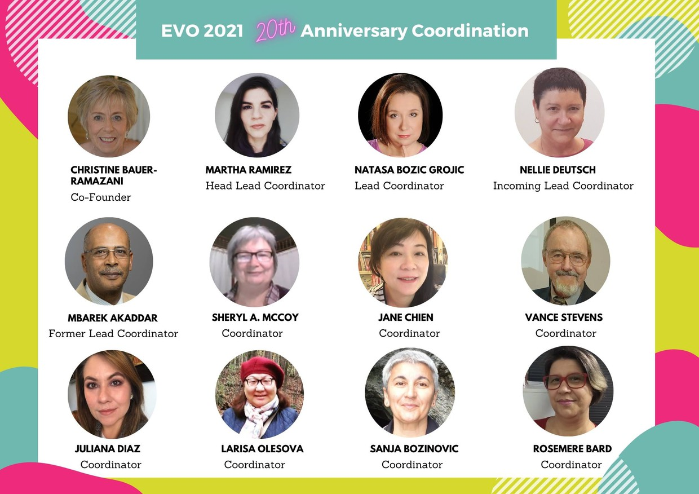 Call to Participate in EVO21 Sessions