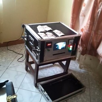 Automatic Machine for Cleaning Black Currency for hire +27785951180