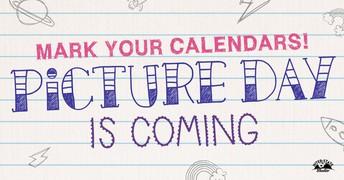 PICTURE DAY - Thursday, April 1st