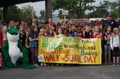 Thanks for joining us on Walk to school day!