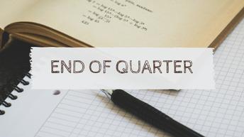 Quarter 1 Term Closes