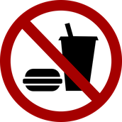 NO Food or Drink allowed in the Media Center.