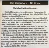 4th Grade Essay Winner