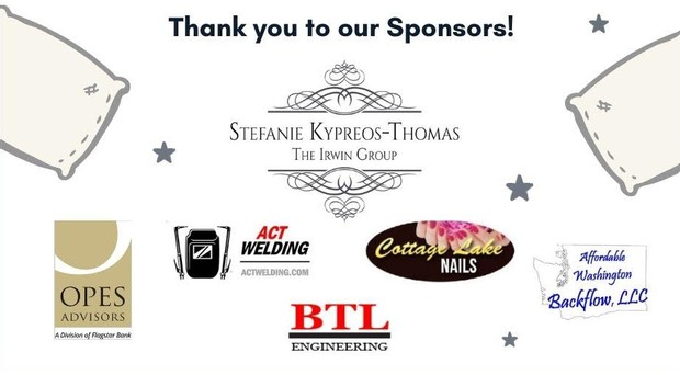 thank you to our Sponsors! list of sponsors