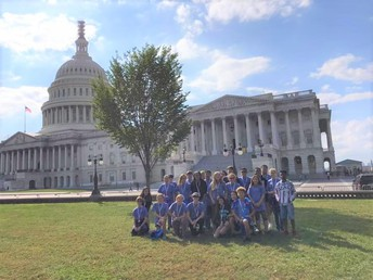 Students Visiting the Nation's Capitol