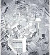 Atelier de Escrita Criativa - Mural de Jornal