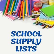 Hybrid Learning Supply List