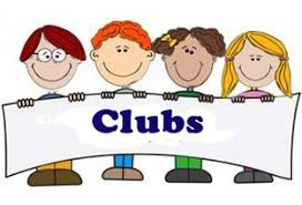 Winter clubs will begin Monday, January 27th.