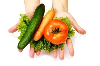 School Café Serves Locally Grown Vegetables