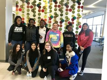 AVID students visit the Kirkwood Regional Center