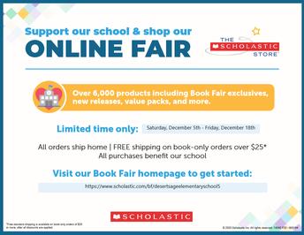 Virtual Book Fair Opens Saturday!