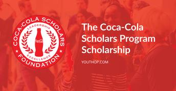 Coca Cola Scholarship-10/31/2020 by 5:00 p.m.