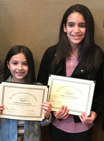 Students Honored by the Illinois Principals Association