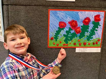 MNE Artists Displayed at Statehouse