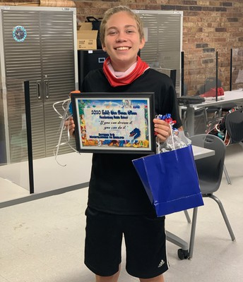 Mitchell Moxley - MMS Student Winner