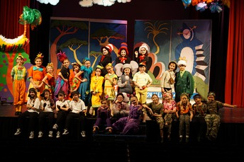 Seussical Cast Taking a Well-Deserved Bow--Bravo!!
