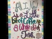 Coffee Bar Art!