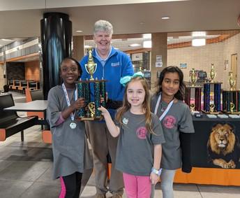 3rd Place Team - Mill Creek Elem