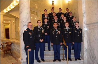 JROTC Governors Inaugural Ball
