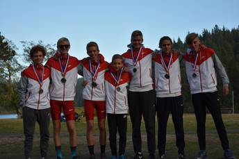 JV Boys District Championship Team